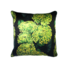 Chrysanths Nuit in Lime & Black by Lux and Bloom