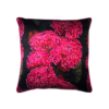 Chrysanths Nuit in Cerise and Black by Lux and Bloom