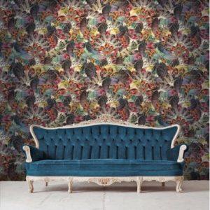 Santorus Wallpaper Madame de la Soir Amethyst