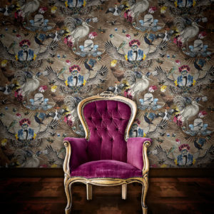 Santorus-Wallpaper-Arrivée-des-Oiseaux-Opal
